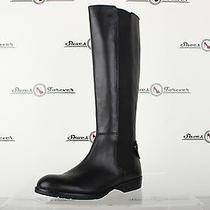 Womens Franco Sarto Casual Black Leather Wide Cuff Tall Boots Sz. 9 M Photo