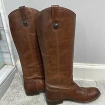 Womens Frye Riding Brown Boots Size 6 B Photo