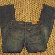 Womens Gap 1969 Faded Medium Wash Boot Cut Denim Jeans Size 8 L 32 X 32 Photo