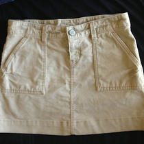 Womens Gap 1969 Jeans Limited Edition Khaki Tan Corduroy Stretch Mini Skirt Sz 2 Photo