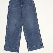 Womens Gap Blue High Waisted Denim Jeans Size 6/l28 Photo