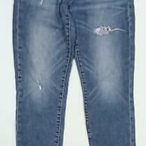 Womens Gap Blue Ripped Denim Jeans Size W29/l26 Photo