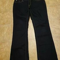 Womens Gap Bootcut Fit Coupe Semi-Evasee Stretch Dark Wash Jeans Sz 10/30r    G Photo