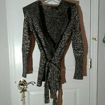 Womens Gap Brown Cardigan W/ Belt Size Small  Photo
