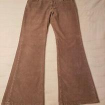 Womens Gap Curvy Tan Corderoy Pants Size 12 Photo
