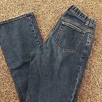Womens Gap Maternity Jeans Size 1 Euc Stretch Waist Bootcut Photo
