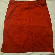 Womens Gap Red Skirt Size 4 Photo