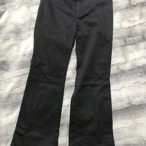 Womens Gap Stretch Black Dress Work Pants Size 8 Photo