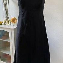 Womens Gap Stretch Strapless Black Dress With Built in Bra Size 4 Photo