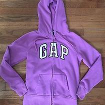 Womens Gap Zipper Hoodie  Purple Sz Small Photo