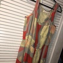 Womens Geometric Dkny Jeans Sleeveless Dress Size 20w Photo
