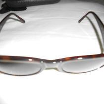 Womens Giorgio Armani Sunglasses Style 639-S O63 135 Tortoise Shell With Case Photo