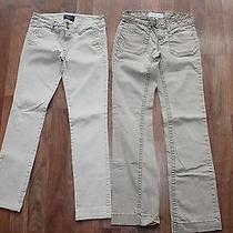 Womens Girls 00 Short American Eagle Aeropostale Khaki Khakis School Pants Lot  Photo