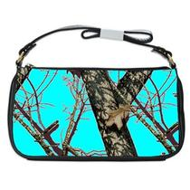Womens Girls Aqua Real Tree Camo Shoulder Bag Purse Gift Free Shipping Hot Photo