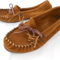 Womens Girls Minnetonka Moccasins Sz 5 1/2 Photo