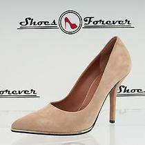 Womens Givenchy Paris Beige Suede Pointy Pumps Shoes Sz. 36.5 Great Photo