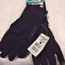 Womens Gloves Winter Liners Skiing Snowboarding Burton Soft Shell Stretch L Photo