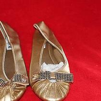 Womens Gold Flats by American Eagle Size 9 Photo