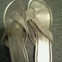 Womens Gold Sandals Photo