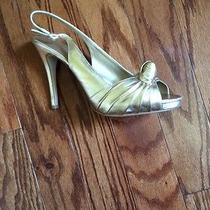Womens Gold Shoes Photo