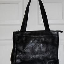 Womens Graphite Leather Handbag  by Kenneth Cole Size M Excellent Condition Photo
