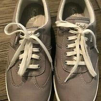 Womens Gray Keds Ortholite Size 7.5m Canvas Shoe Sneakers Photo