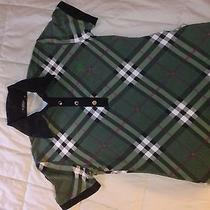 Womens Green Burberry Polo Photo