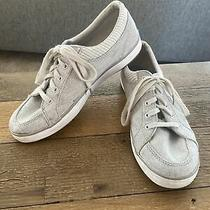 Womens Grey Keds Sneakers Size 5 Dream Foam Memory Photo