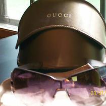 Womens Gucci Wrap Around Sunglasses With Original Case   100% Authentic Photo