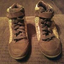 Womens Guess Boots Wedges Size 7 Photo
