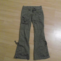 Womens Guess Cargo Army Pants Size 24 Photo
