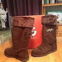 Womens Guess Suede Boots Photo