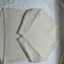 Womens h&m Cream Pullover Sweater  Size Small Photo