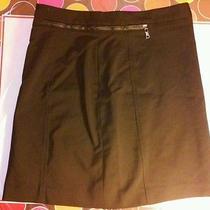 Womens h&m Formal Black Office Wear Business Formal Pencil Short Skirt Size 6  Photo