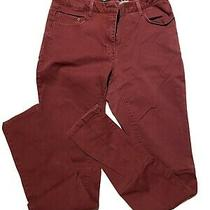 Womens h&m Maroon Skinny Jeans Size 8 Photo