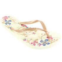 Womens Havaianas Slim Season Beach Flip Flop Slip on Summer Sandal New All Sizes Photo