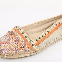 Womens House of Harlow 1960 Multi-Color Leather Slip-on Flats Sz. 6 Photo