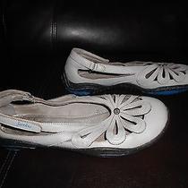 Womens Jambu Leather Blush Barefoot Slip Oncasual Flats Shoes Sz 8.5 Gray Photo