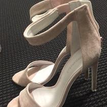 Womens Jeffrey Campbell Pale Pink Suede Ankle Strap Sandals Sz. 9 Photo