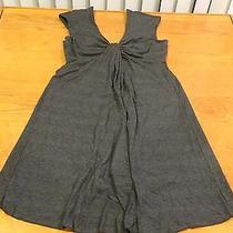 Womens/jr Girls Dress - Small- Express - Charcoal Gray - Sleeveless - Euc - 3ama Photo