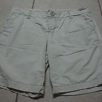 Womens Jrs American Eagle Khaki Shorts 4 Photo