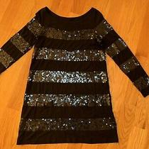 Womens Juicy Couture Sequins Dress With Pockets Size M Good Condition Photo