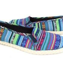 Womens Keds Mini Bracelet Bright Flat Shoe Size 8m Nwb Multi Colored Slip on  Photo