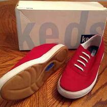 Womens Keds Size 7m Red Oxfords Red Photo