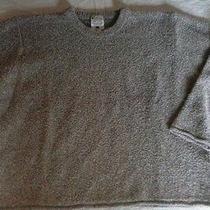 Womens L Columbia Marled Sweater Cotton Acrylic Blend Photo