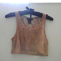Womens Lace Crop Top Photo
