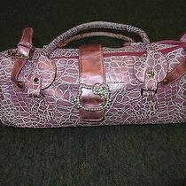 Womens Lavender / Purple Hello Kitty Handbag / Purse Rhinestone Buckle Photo