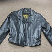 Womens Leather  Motorcycle Jacket Photo