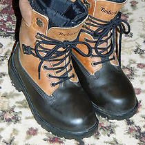 Womens Leather Timberland-Water-Proof-Insulated- Winter Boots-Size 6 Photo