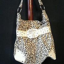Womens Leopard Print Purse Photo